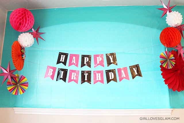 Sugar Rush Birthday Backdrop on www.girllovesglam.com