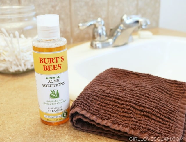 Burt's Bees Acne Gel Cleanser on www.girllovesglam.com