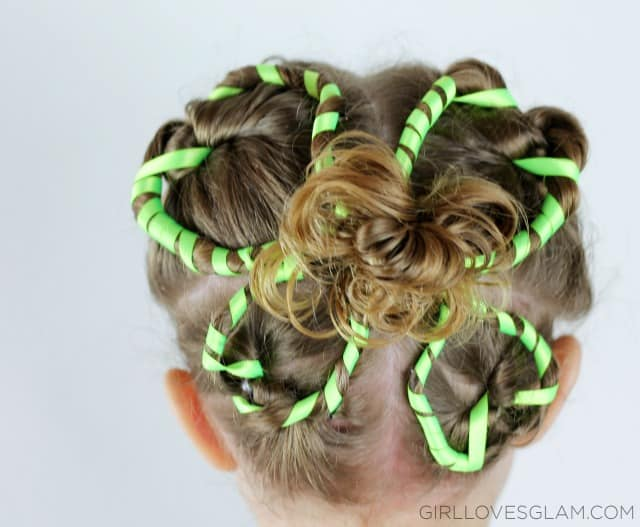Cute St. Patrick's Day Hairstyle on www.girllovesglam.com