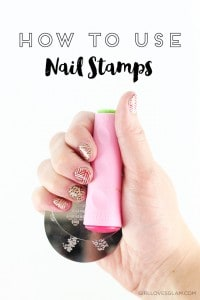 How to Use Nail Stamps on www.girllovesglam.com