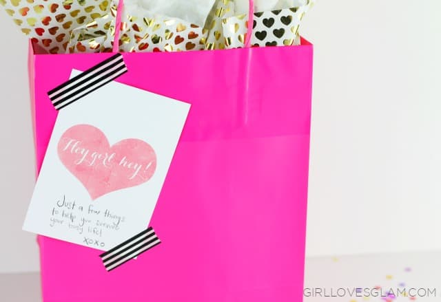 Galentine Gift Tag Printable on www.girllovesglam.com #swissherbs