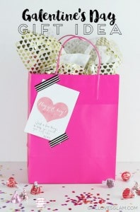 Galentine's Day Gift Idea and Free Printable on www.girllovesglam.com #swissherbs
