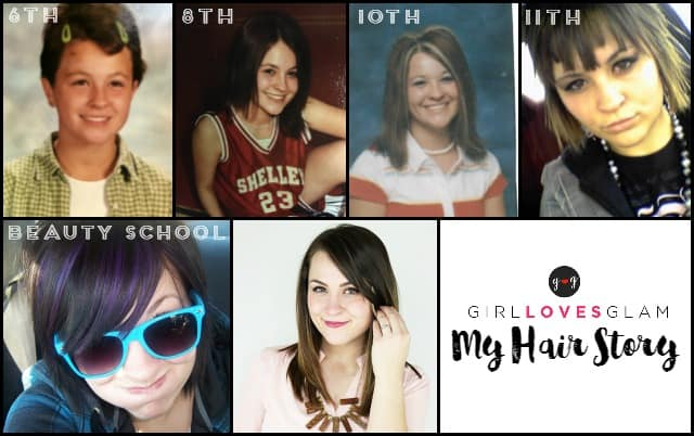 My Hair Story Timeline on www.girllovesglam.com