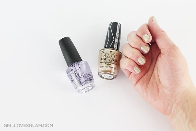 How to paint nails with nail stamps on www.girllovesglam.com