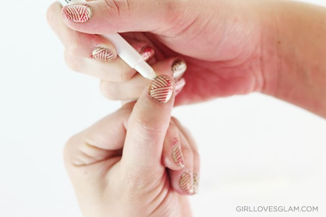 Easy nail art clean up : How to use nail stamps girl loves glam
