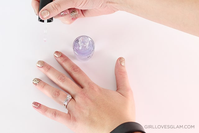 How To Use Nail Stamps Girl Loves Glam