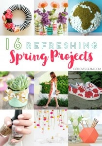 16 Refreshing Spring Projects on www.girllovesglam.com