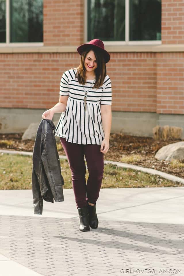 Casual Stylish Outfit on www.girllovesglam.com