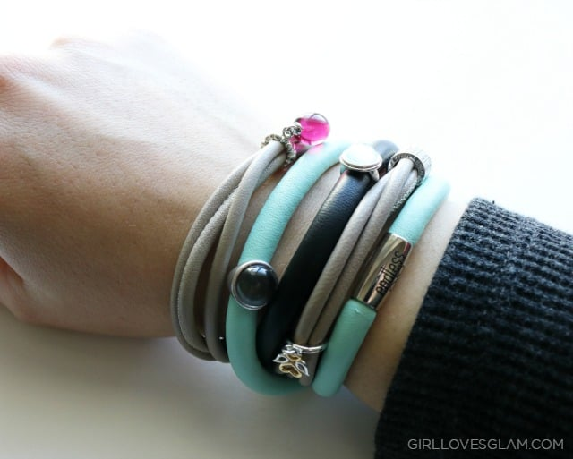 Endless Jewelry Bracelet Stack on www.girllovesglam.com
