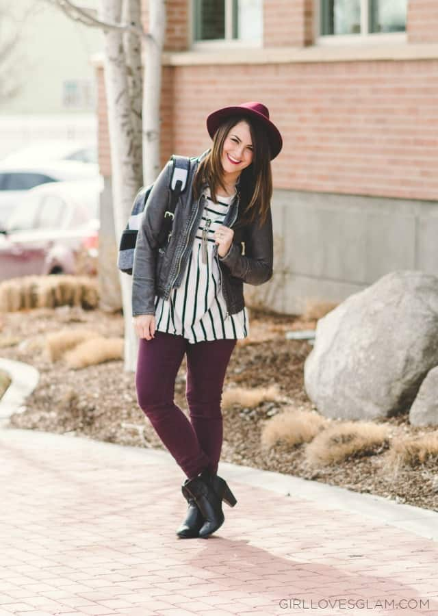 On the go winter style on www.girllovesglam.com