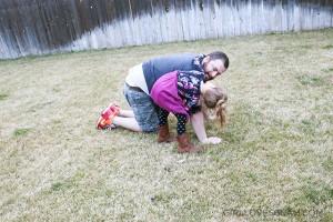 Daddy Daughter Springtime #swissherbs