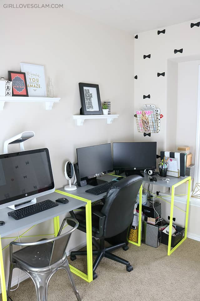 Office Design on www.girllovesglam.com
