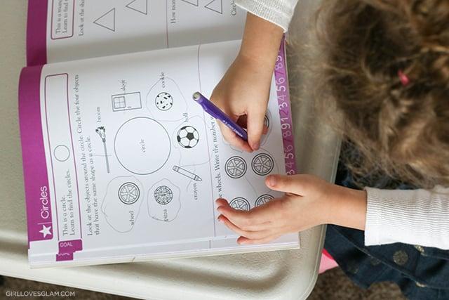 Preschool at Home Ideas on www.girllovesglam.com