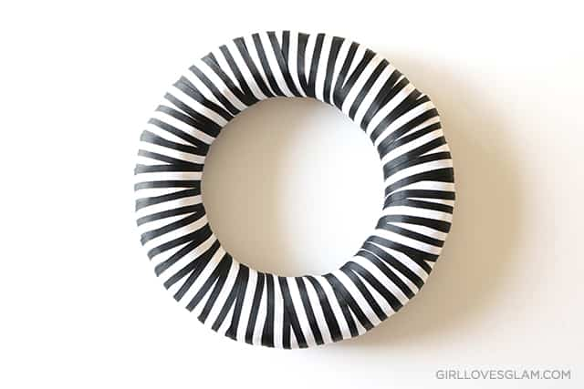 Stripe Wreath Ribbon on www.girllovesglam.com