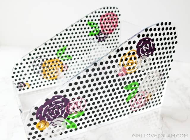 Acrylic Makeup Organizer on www.girllovesglam.com