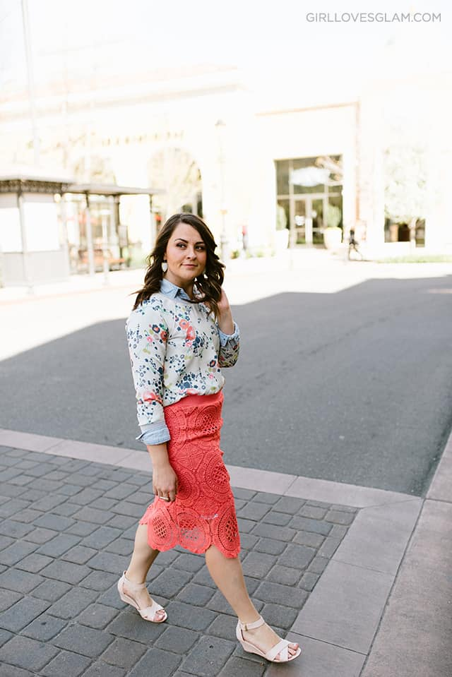 Modest Dressed Up Spring Outfit on www.girllovesglam.com