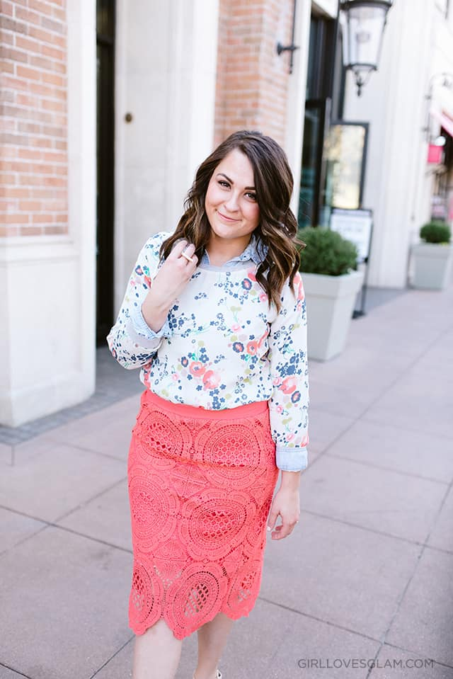 Spring Church Outfit on www.girllovesglam.com