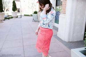Dressed up for spring on www.girllovesglam.com