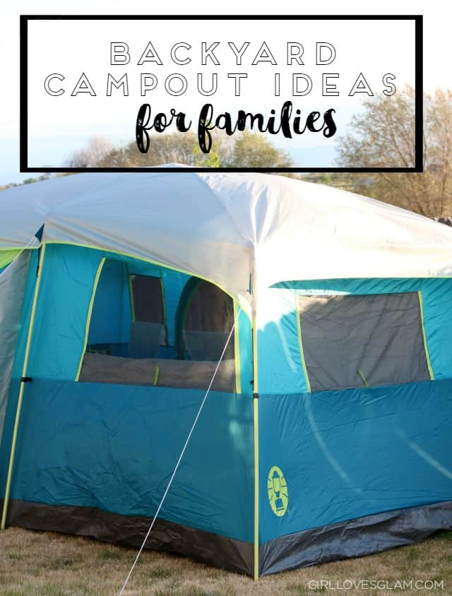 Backyard Campout Ideas for Familes