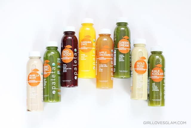 Paleta Juice Detox on www.girllovesglam.com