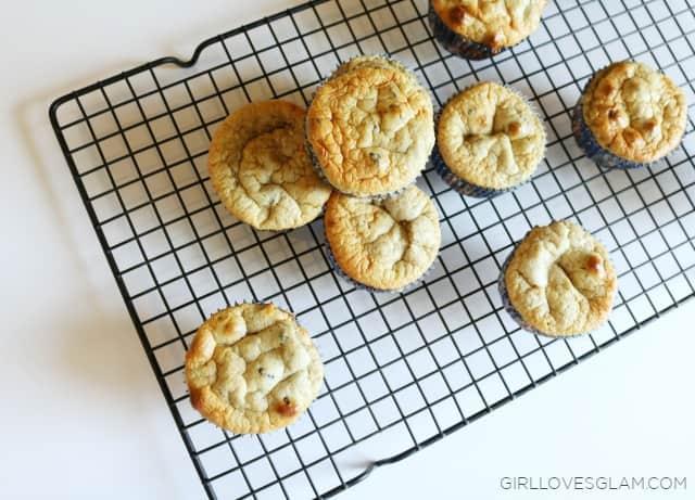 Gluten Free Blueberry Muffins on www.girllovesglam.com