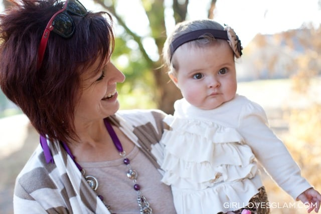 Harper and Grandma on www.girllovesglam.com