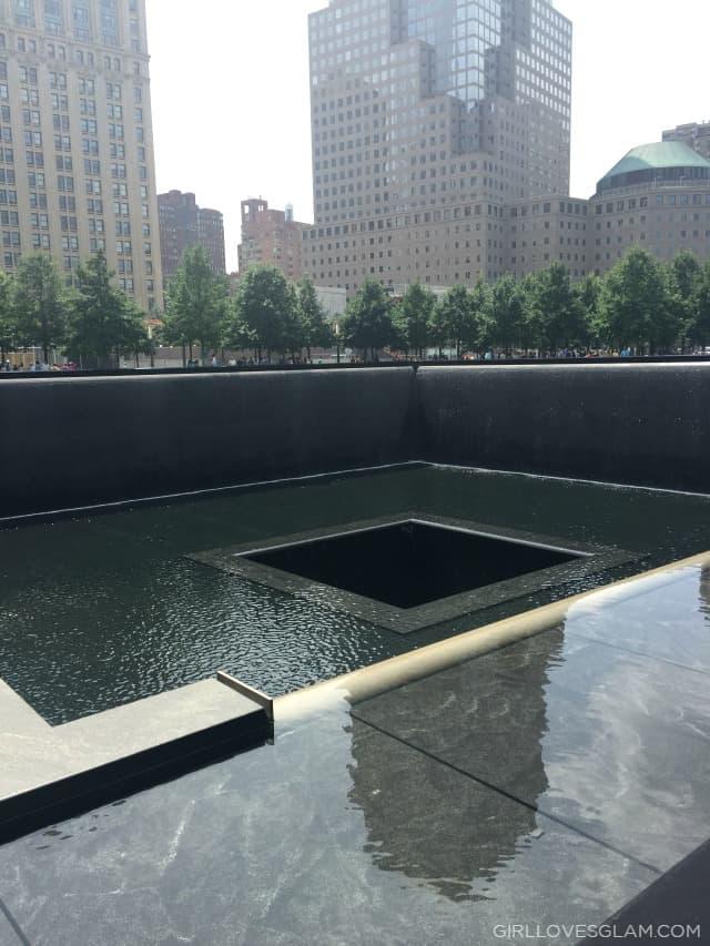 9/11 Memorial Fountain on www.girllovesglam.com