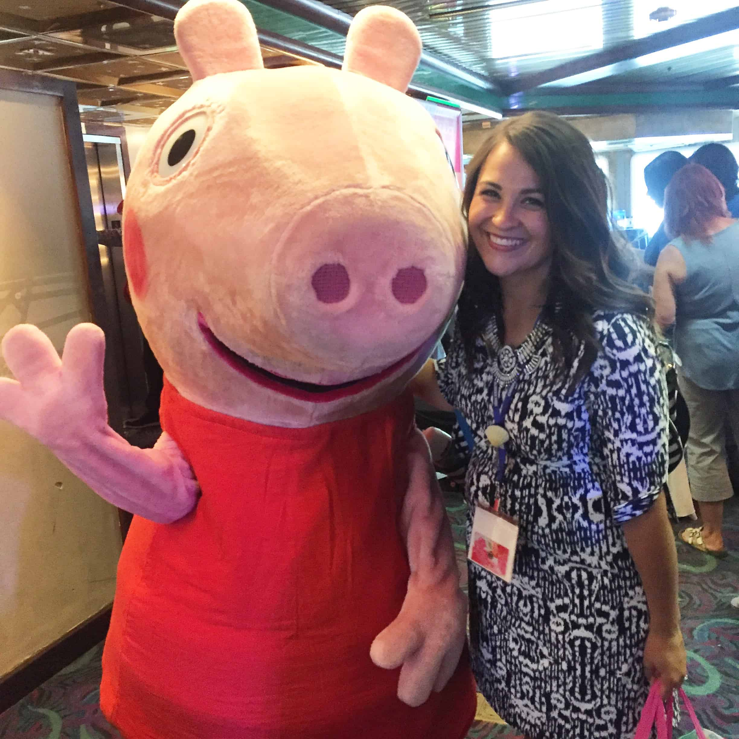 Peppa Pig at Sweet Suite