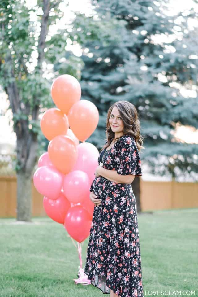 Baby Gender Reveal on www.girllovesglam.com