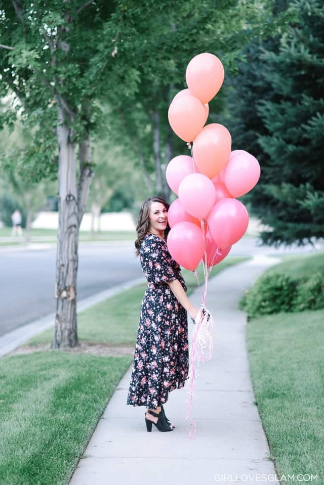 Maternity Gender Reveal on www.girllovesglam.com