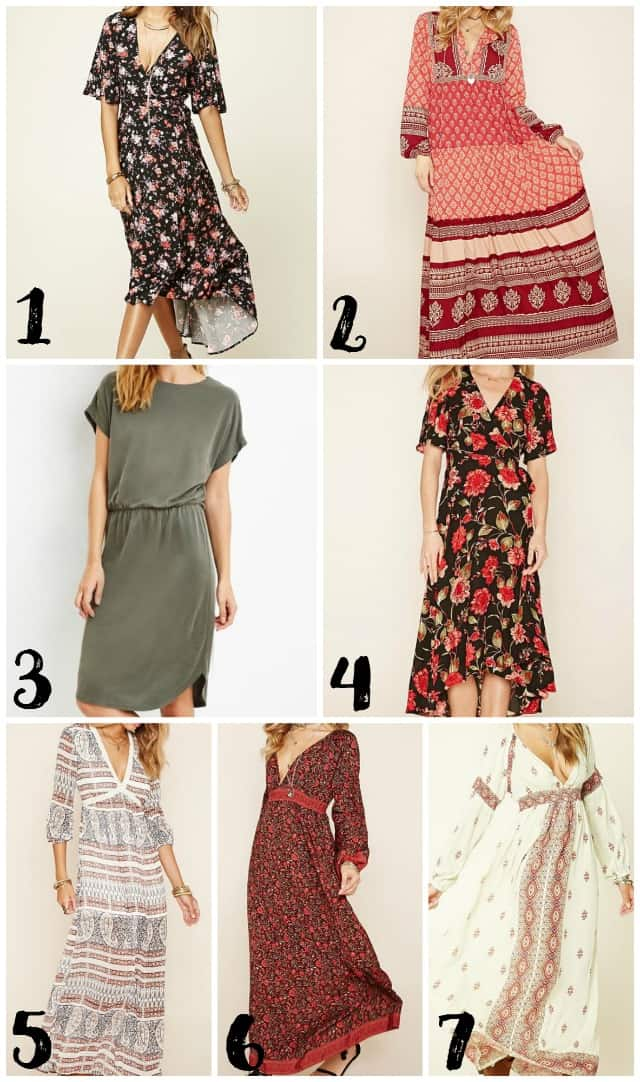 Modest Dresses on Forever 21 on www.girllovesglam.com