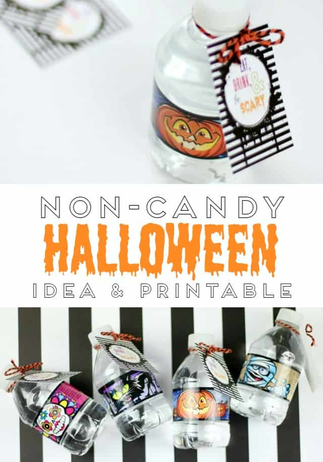 Non Candy Halloween Idea and Printable
