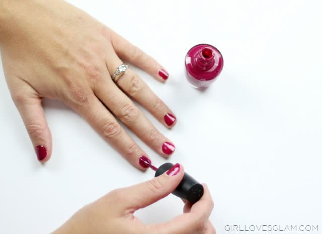 OPI Miami Beet Polish on www.girllovesglam.com