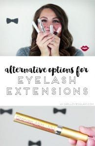 Alternative Options for Eyelash Extensions on www.girllovesglam.com