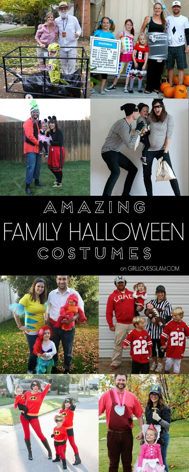 Amazing Family Halloween Costumes on www.girllovesglam.com