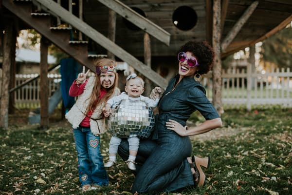 Disco Family Costume