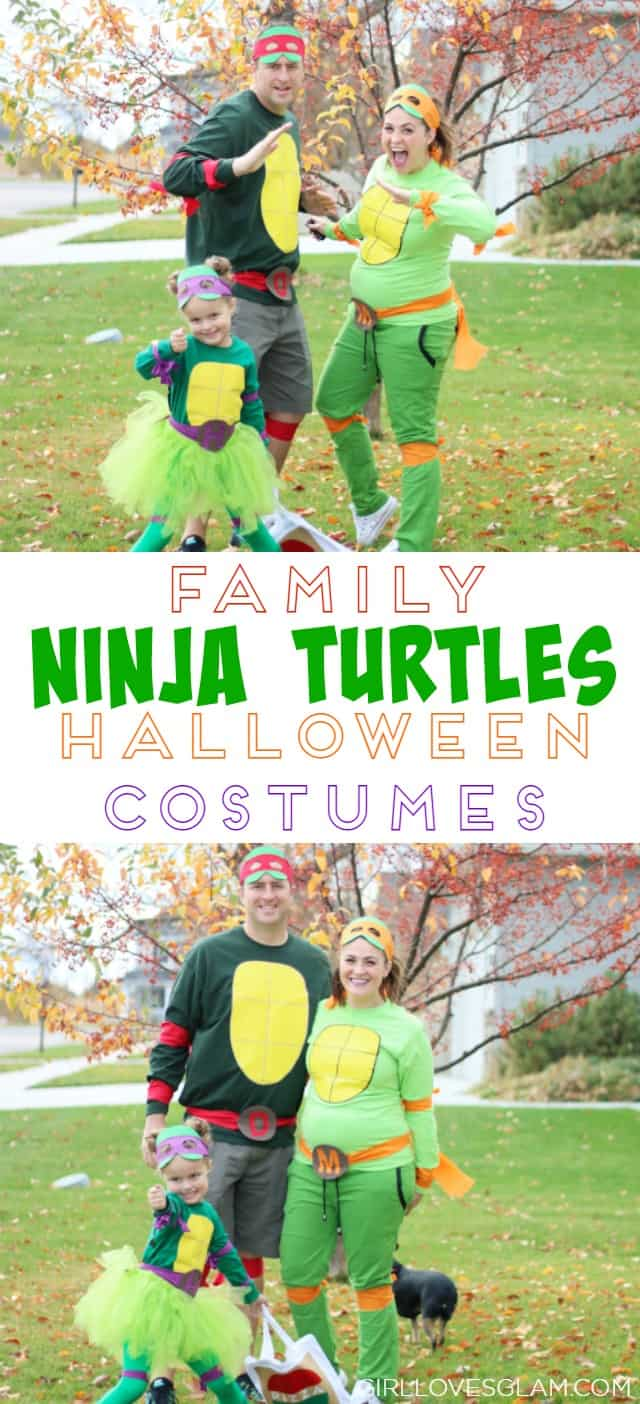 family ninja turtles halloween costumes on wwwgirllovesglamcom