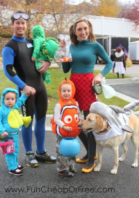 finding nemo family halloween costume