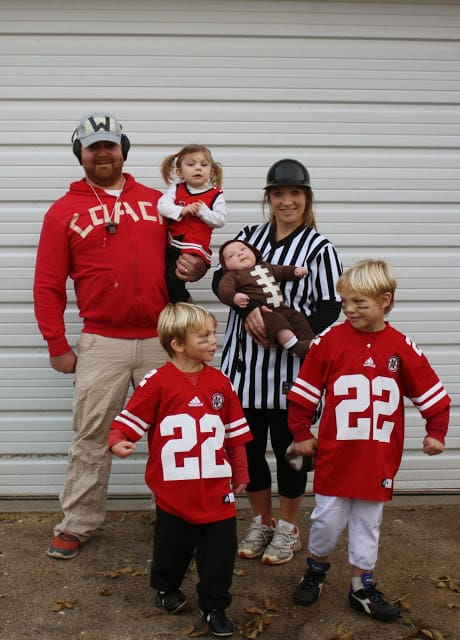 Football Family Halloween Costume