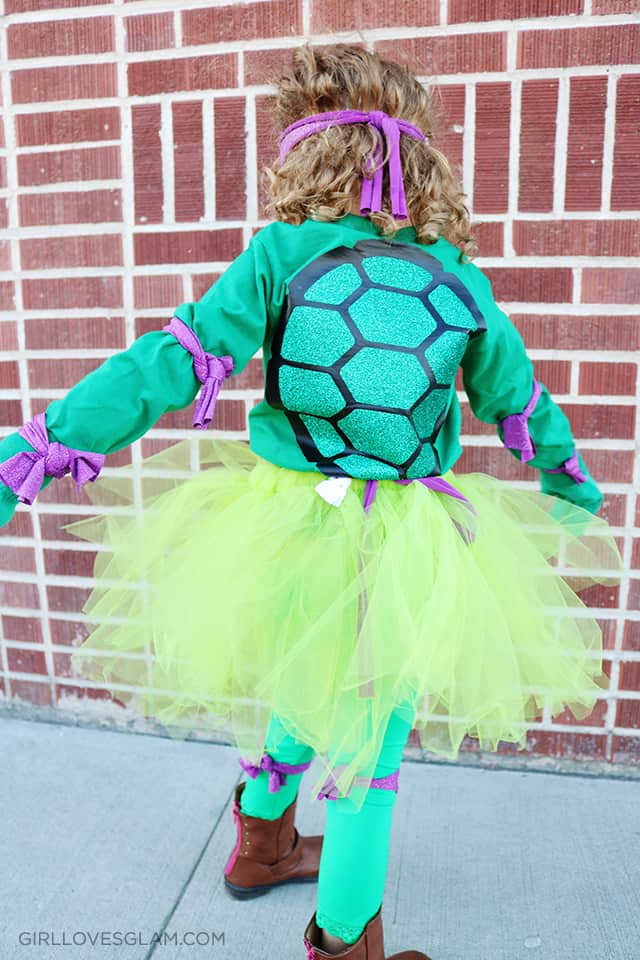 Halloween Ninja Turtle Costume on www.girllovesglam.com