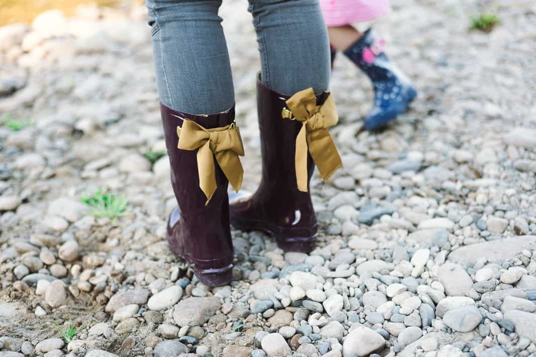 Rain Boots with Bows on www.girllovesglam.com