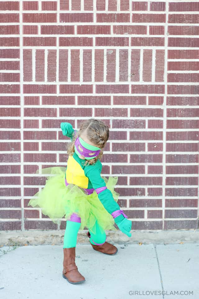 Ninja Turtle Girl Costume on www.girllovesglam.com