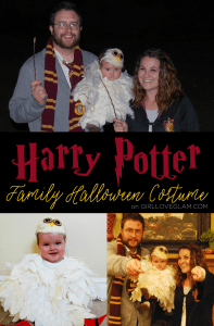 Harry Potter Family Halloween Costume on www.girllovesglam.com
