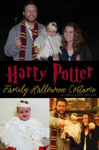 Harry Potter Family Halloween Costume on www.girllovesglam.com