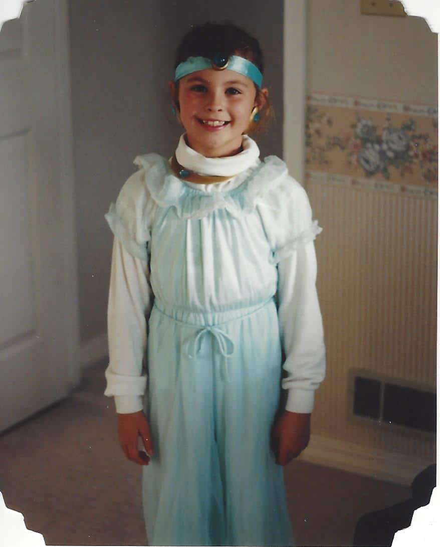 Princess Jasmine costume on www.girllovesglam.com
