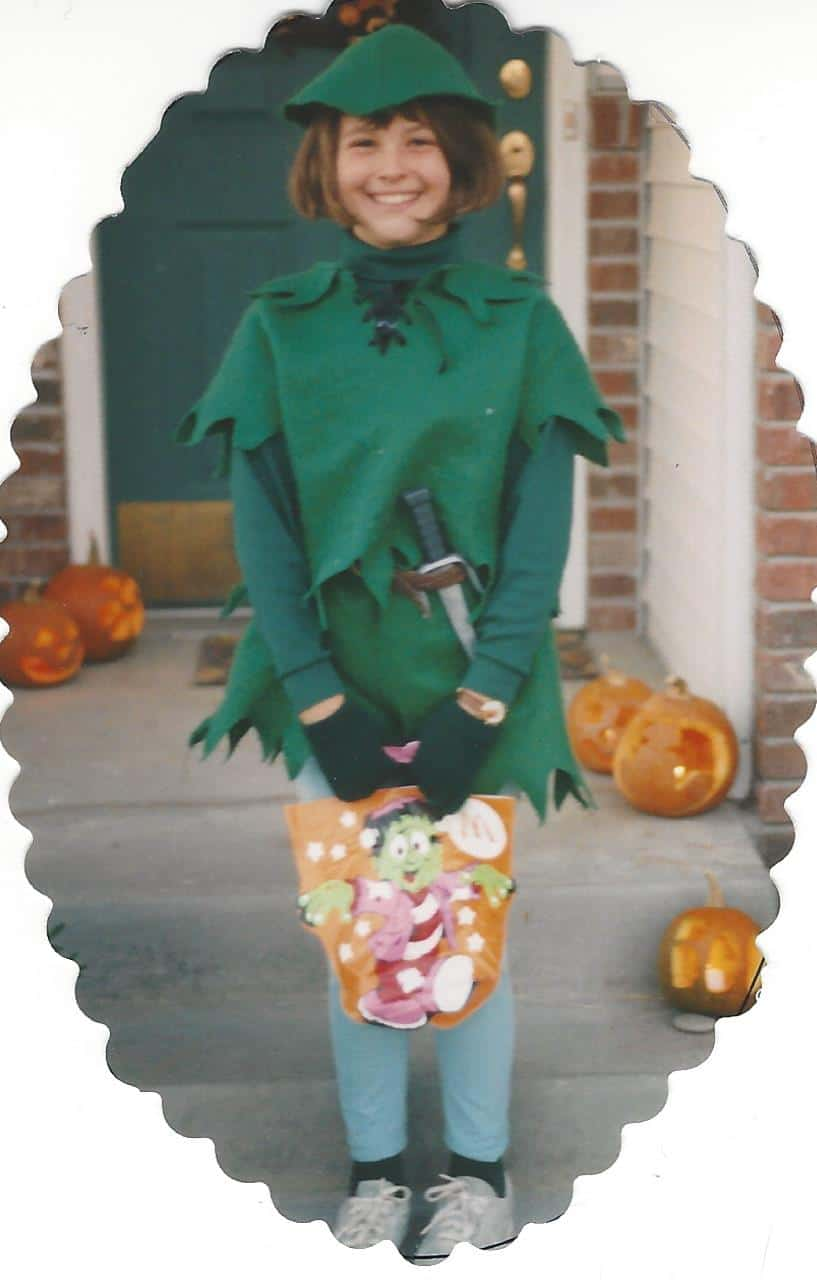 Peter Pan Costume on www.girllovesglam.com