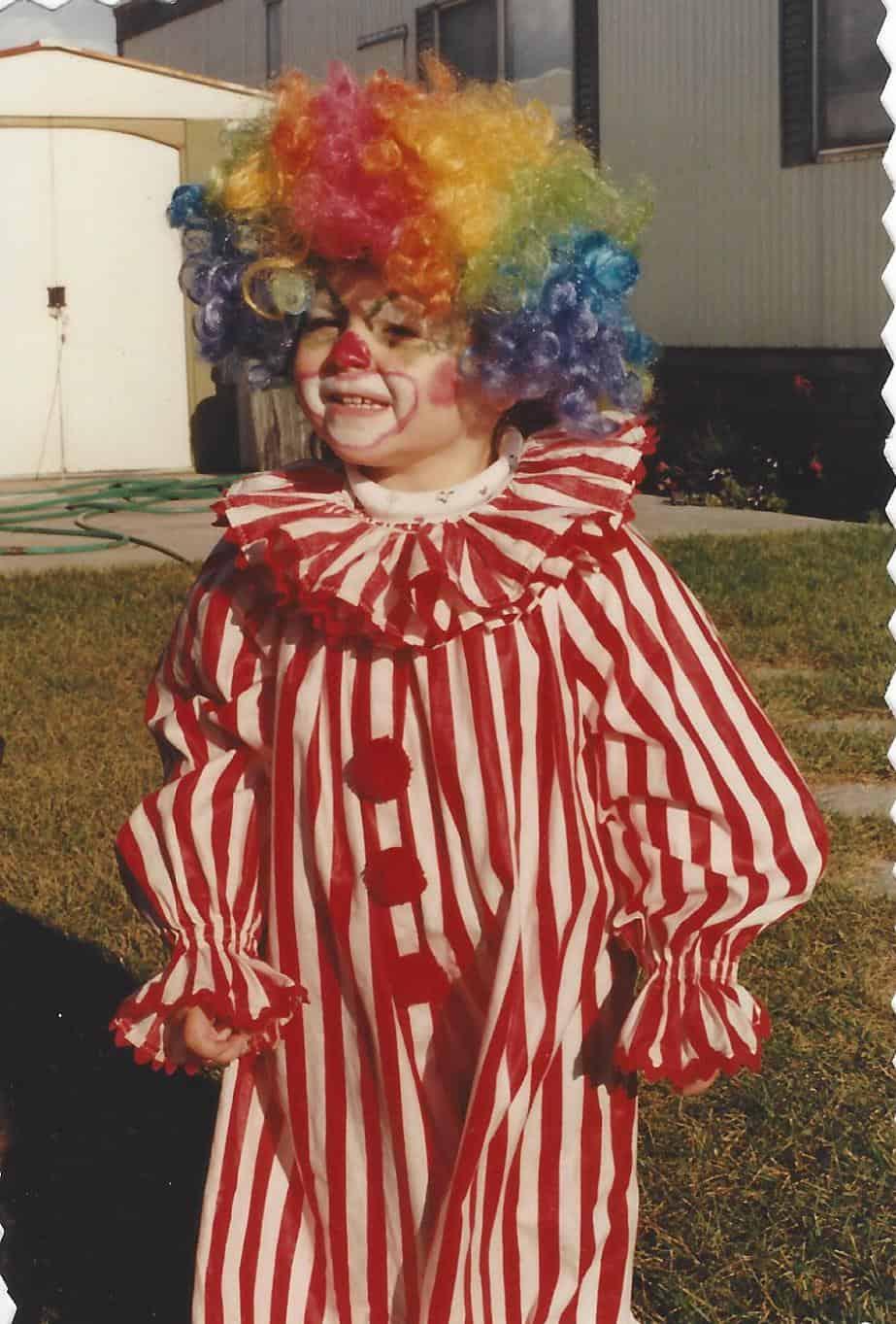 Clown Costume on www.girllovesglam.com