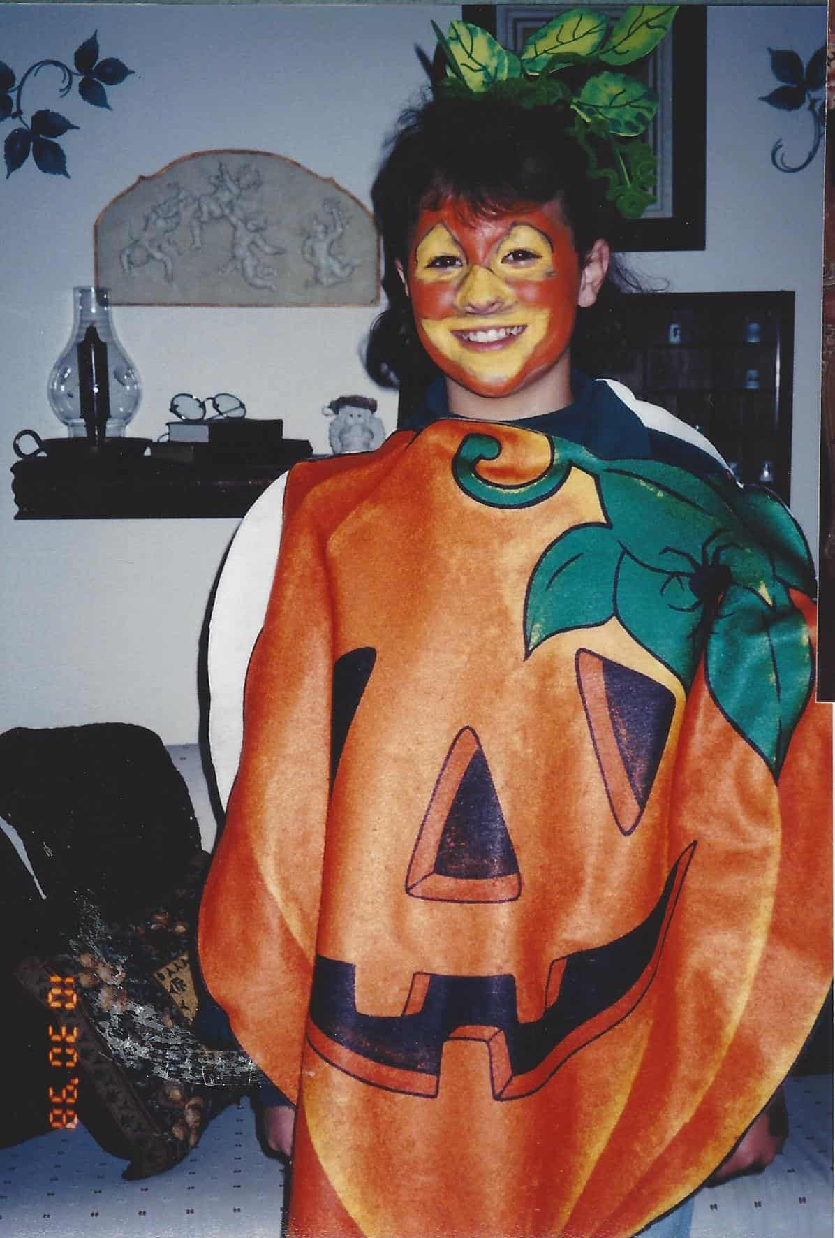 Pumpkin Costume on www.girllovesglam.com