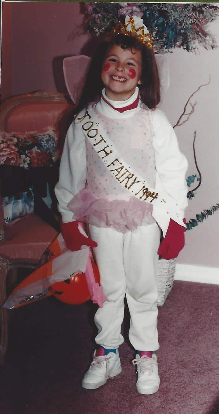 Tooth Fairy Halloween Costume on www.girllovesglam.com