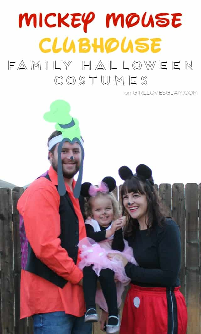 Mickey Mouse Clubhouse Family Halloween Costume on www.girllovesglam.com